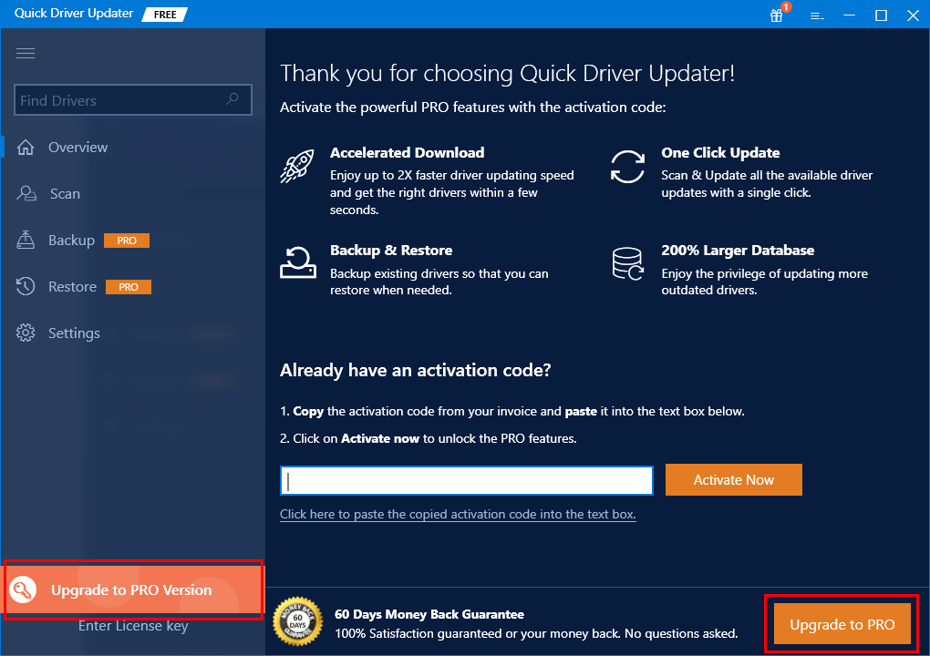 FAQ - Quick Driver Updater